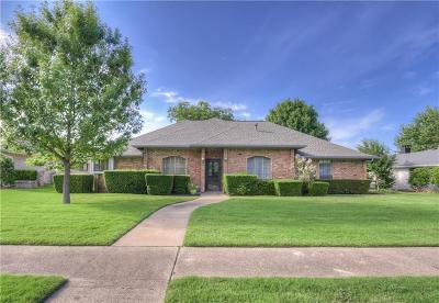 Plano Single Family Home Active Option Contract: 2529 Cedar Elm Lane