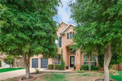 Frisco Single Family Home Active Option Contract: 11822 Barrymore Drive