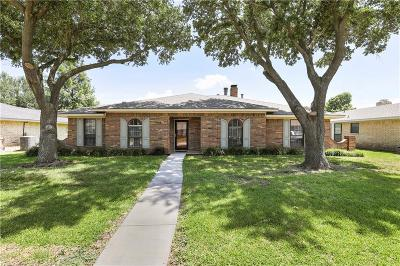 Garland Single Family Home For Sale: 4614 Burdock Drive
