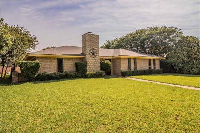 Plano Single Family Home Active Option Contract: 2749 Teakwood Lane