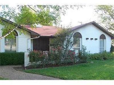 Dallas Single Family Home For Sale: 3024 Walnut Hill Lane