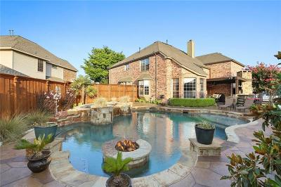 Frisco Single Family Home Active Option Contract: 1800 Hollow Falls Court
