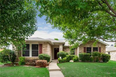 Rockwall Single Family Home Active Option Contract: 1669 Westbury Drive