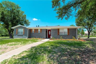 Mesquite Single Family Home Active Option Contract: 1303 Develon Drive