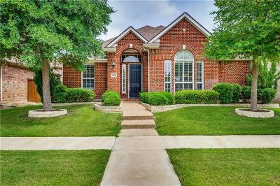 Frisco Single Family Home Active Option Contract: 3528 N Jefferson Drive N