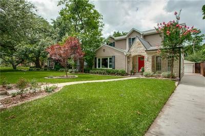 Dallas Single Family Home For Sale: 6289 Malcolm Drive