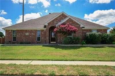 Midlothian Single Family Home Active Option Contract: 706 Ranchland Circle