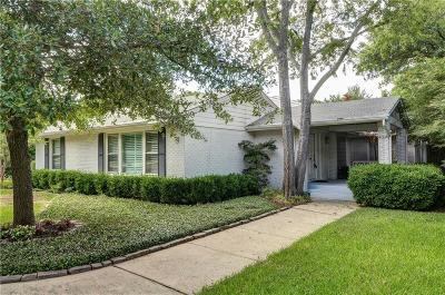 Dallas Single Family Home For Sale: 4034 Highgrove Drive