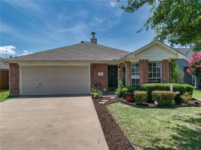 Royse City Single Family Home Active Option Contract: 1113 Oak Grove Lane