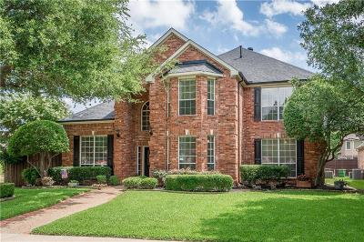 Plano Single Family Home Active Option Contract: 2800 Cherry Spring Court