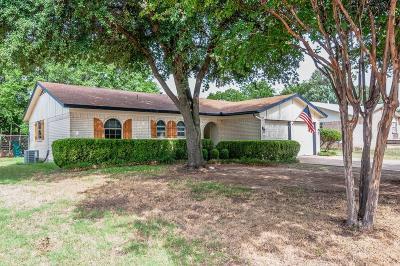 Watauga Single Family Home Active Option Contract: 6621 Nola Drive