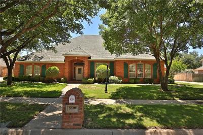 Abilene Single Family Home For Sale: 5310 Peppermill Lane