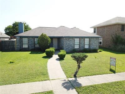 Rowlett Single Family Home For Sale: 6512 Buckeye Drive