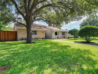 Plano Single Family Home Active Option Contract: 3308 Regent Drive