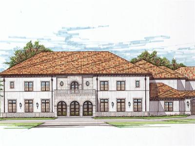 Dallas TX Single Family Home For Sale: $7,985,000