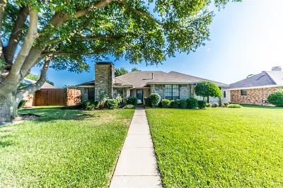 Coppell Single Family Home Active Option Contract: 630 Pheasant Lane