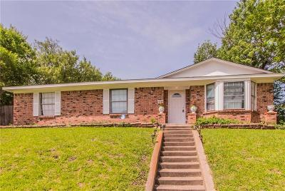 Mesquite Single Family Home For Sale: 1605 S Parkway