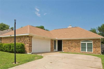 Plano Single Family Home Active Contingent: 1501 Lilac Lane