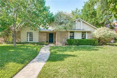 Coppell Single Family Home Active Option Contract: 805 Redcedar Way Drive