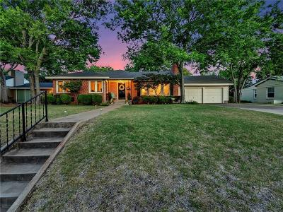 Fort Worth Single Family Home For Sale: 6371 Greenway Road