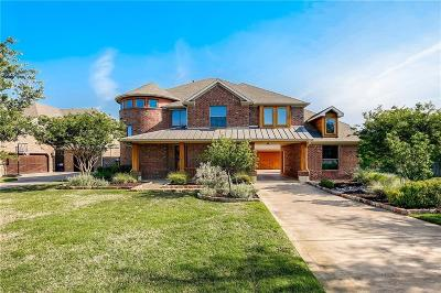 Keller Single Family Home Active Option Contract: 713 Regal Crossing