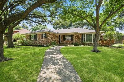 Dallas Single Family Home For Sale: 9823 Edgecove Drive