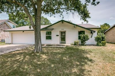 Bedford, Euless, Hurst Single Family Home For Sale: 510 Brownstone Street