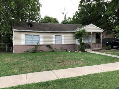 Irving Single Family Home For Sale: 1208 W 3rd Street