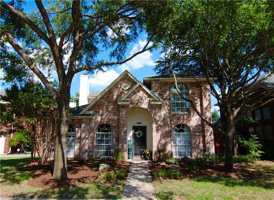 Coppell Single Family Home Active Option Contract: 608 Ashford Drive