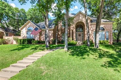North Richland Hills Single Family Home Active Option Contract: 8316 Thorncrest Court
