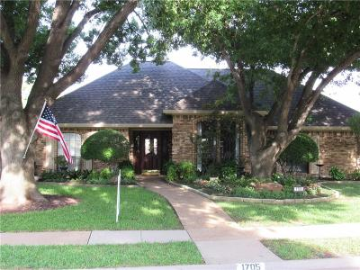Plano Single Family Home For Sale: 1705 Eden Valley Lane