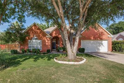Coppell Single Family Home Active Option Contract: 126 Carrington Drive