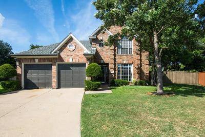 Plano Single Family Home Active Option Contract: 7804 Anthony Lane