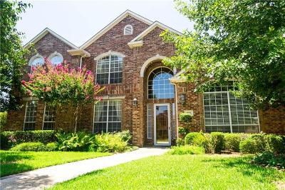 Coppell Single Family Home For Sale: 1009 Roundrock Circle