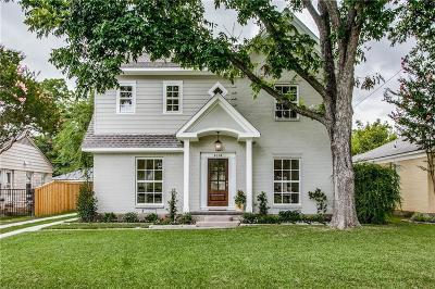 Dallas Single Family Home For Sale: 6314 Ellsworth Avenue