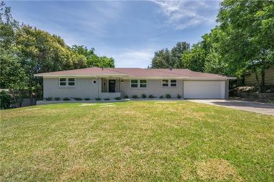 Fort Worth Single Family Home Active Option Contract: 6925 Overhill Road
