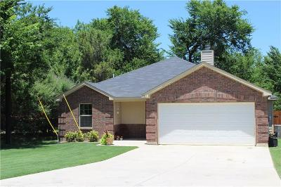 Lake Dallas Single Family Home Active Option Contract: 723 Thompson Drive