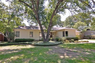 Fort Worth Single Family Home For Sale: 3821 Arundel Avenue