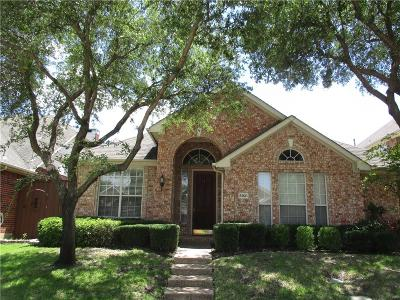 Irving Single Family Home Active Option Contract: 8921 Lakewood Drive
