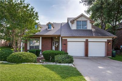 Bedford, Euless, Hurst Single Family Home For Sale: 3504 Periwinkle Court