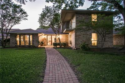 Dallas Single Family Home For Sale: 8005 Abramshire Avenue