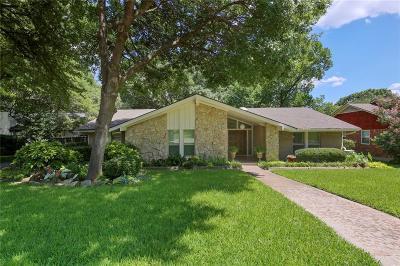 Dallas Single Family Home For Sale: 9534 Crestedge Drive