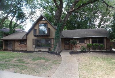 Dallas Single Family Home For Sale: 9226 Club Glen Drive