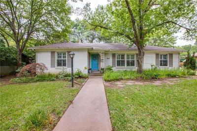 Dallas Single Family Home For Sale: 4064 Lomita Lane