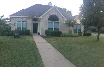 Coppell Single Family Home Active Option Contract: 501 Meadowood Lane