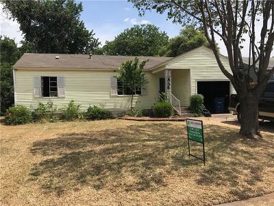 Dallas Single Family Home For Sale: 656 Wildrose Drive
