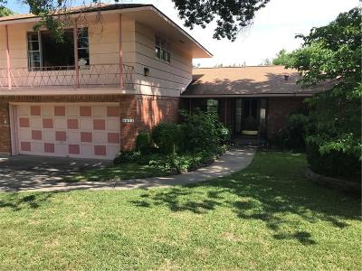Single Family Home For Sale: 6633 Blue Valley Lane