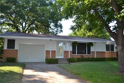Johnson County Single Family Home For Sale: 1016 Bales Street