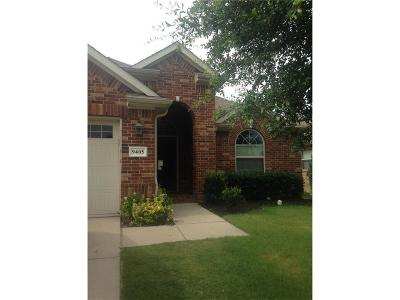 Mckinney  Residential Lease For Lease: 9405 Caliente Drive