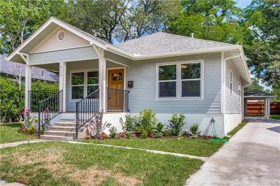 Dallas Single Family Home For Sale: 839 Winston Street